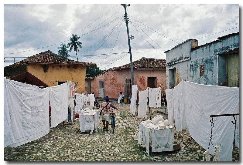 privater Markt in Trinidad