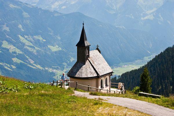 Privatkapelle der Zellberg-Buam