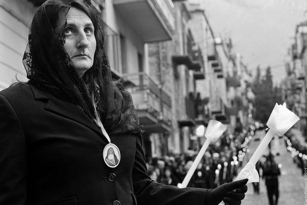 Processione del Venerdì Santo - Castelbuono -