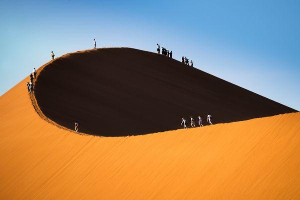 Processione sulla duna #2