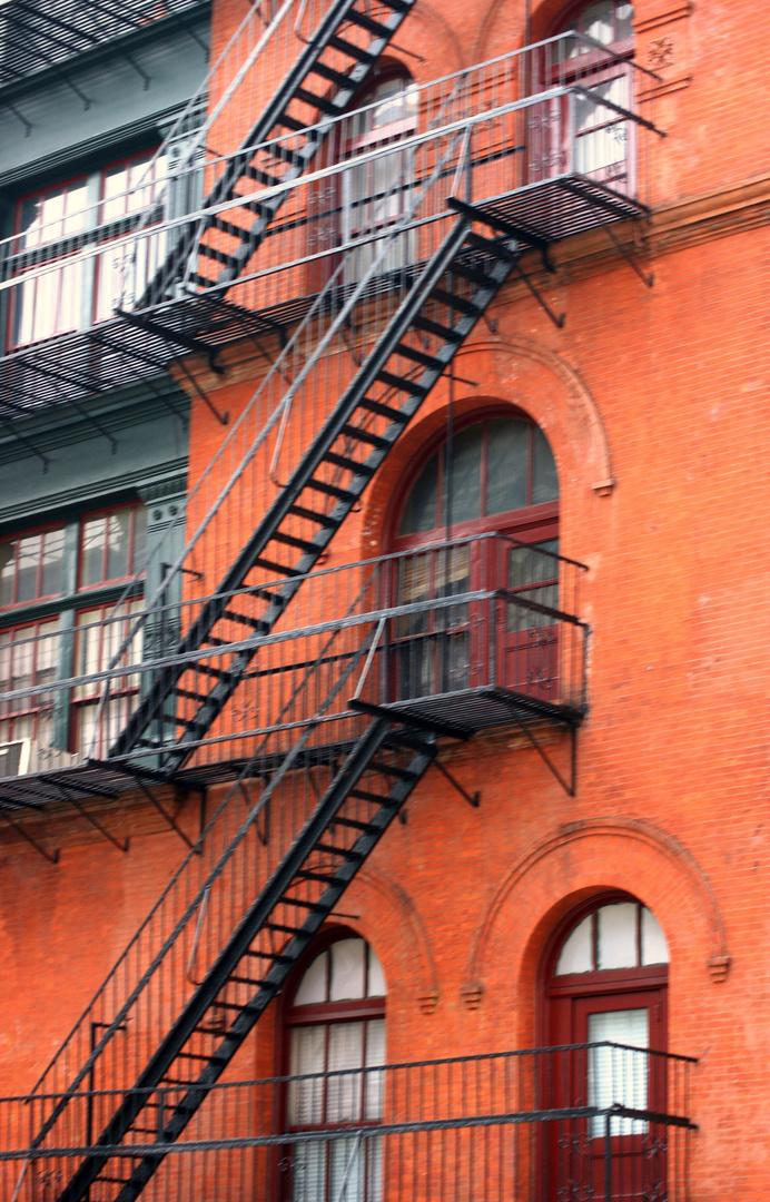 Profanbauten, Häuserfassade, NYC, Manhattan, SOHO II