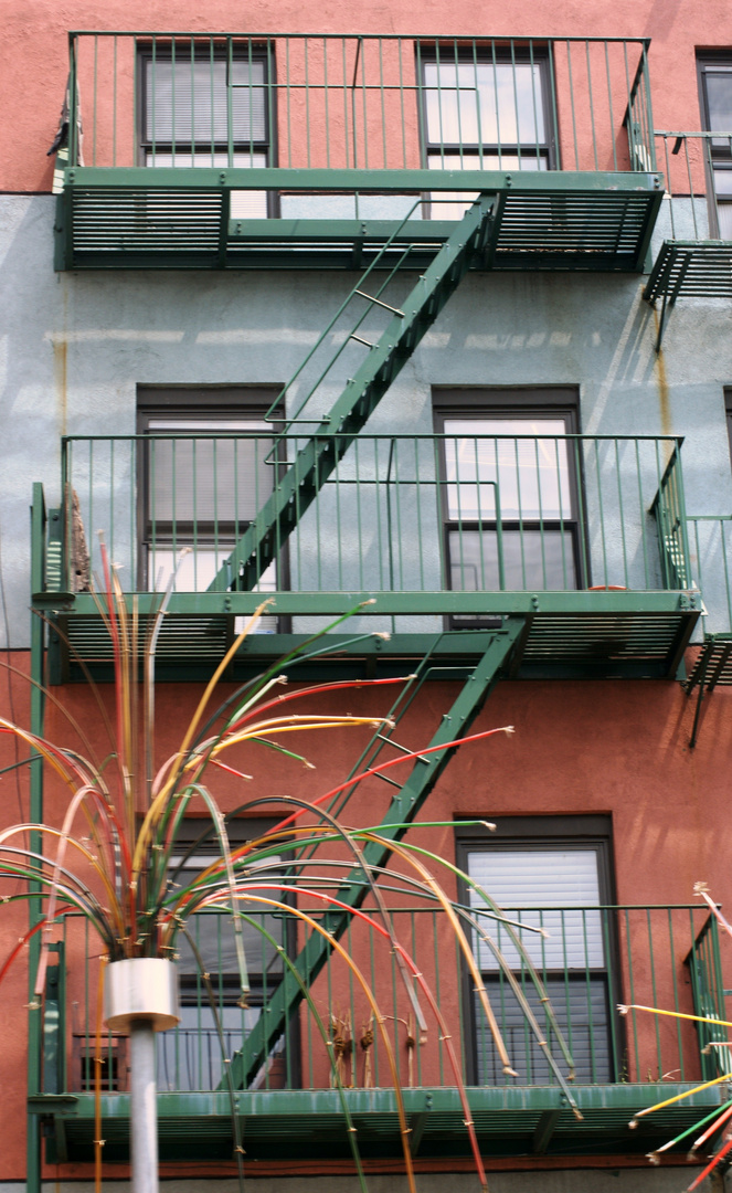 Profanbauten, Häuserfassade, NYC, Manhattan, SOHO III