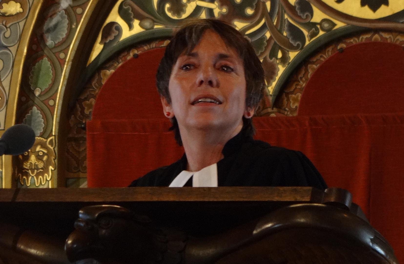 Prof.Dr.Margot Käßmann in Eisenach