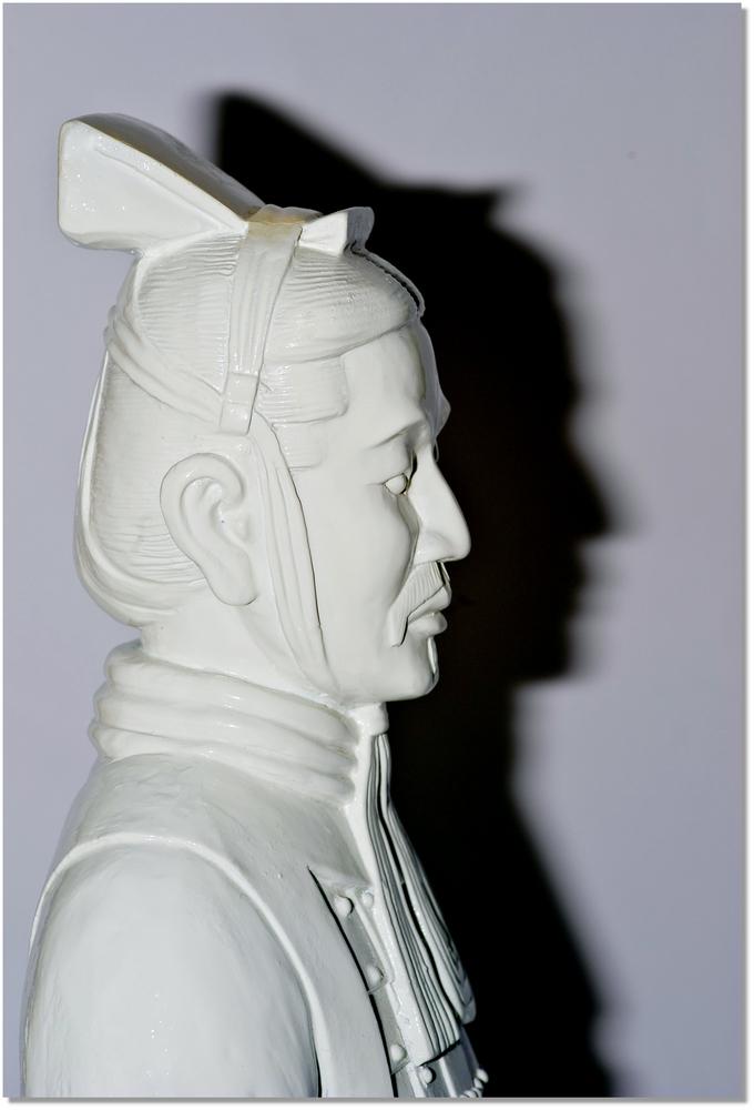Profil eines Kriegers