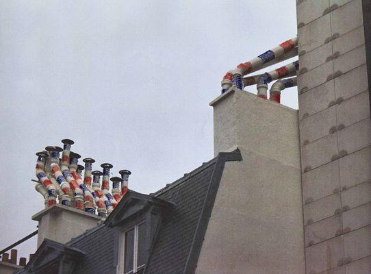Project for Paris city