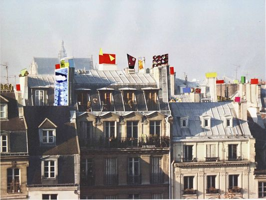 Project for Paris city - Beaubourg