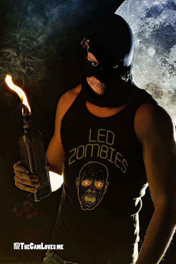 Projekt Blue Fist LED Zombie 2
