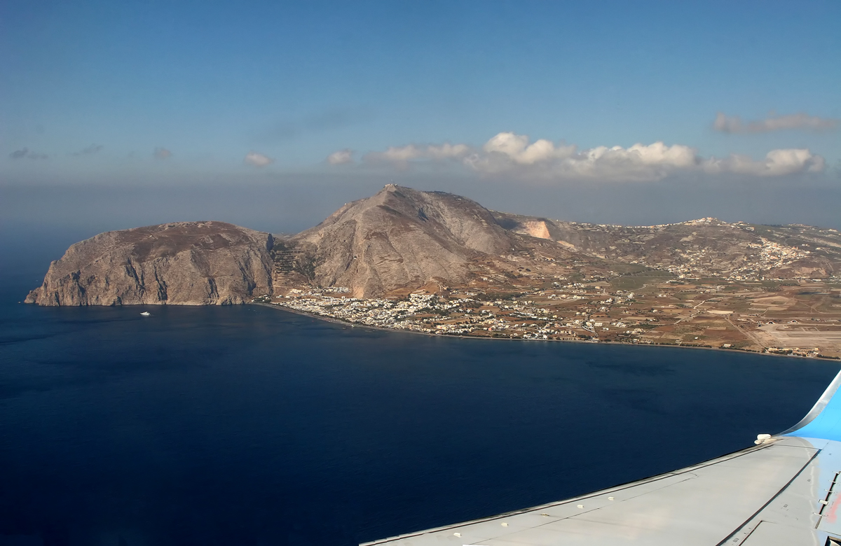 Projekt Santorin - im Anflug