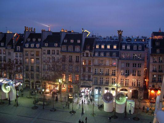 Projet Paris Beaubourg