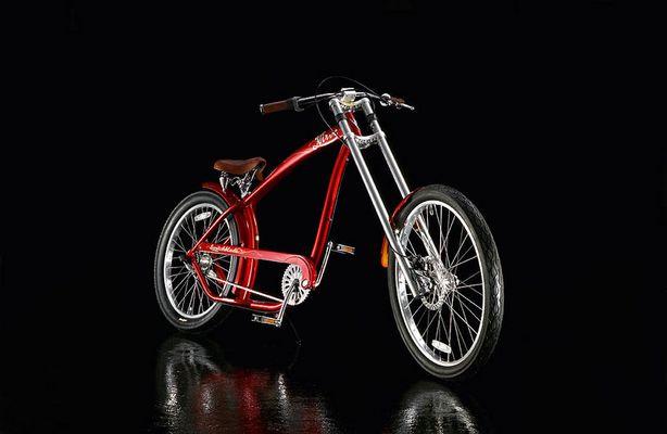 Prolliges Fahrrad schön fotografiert