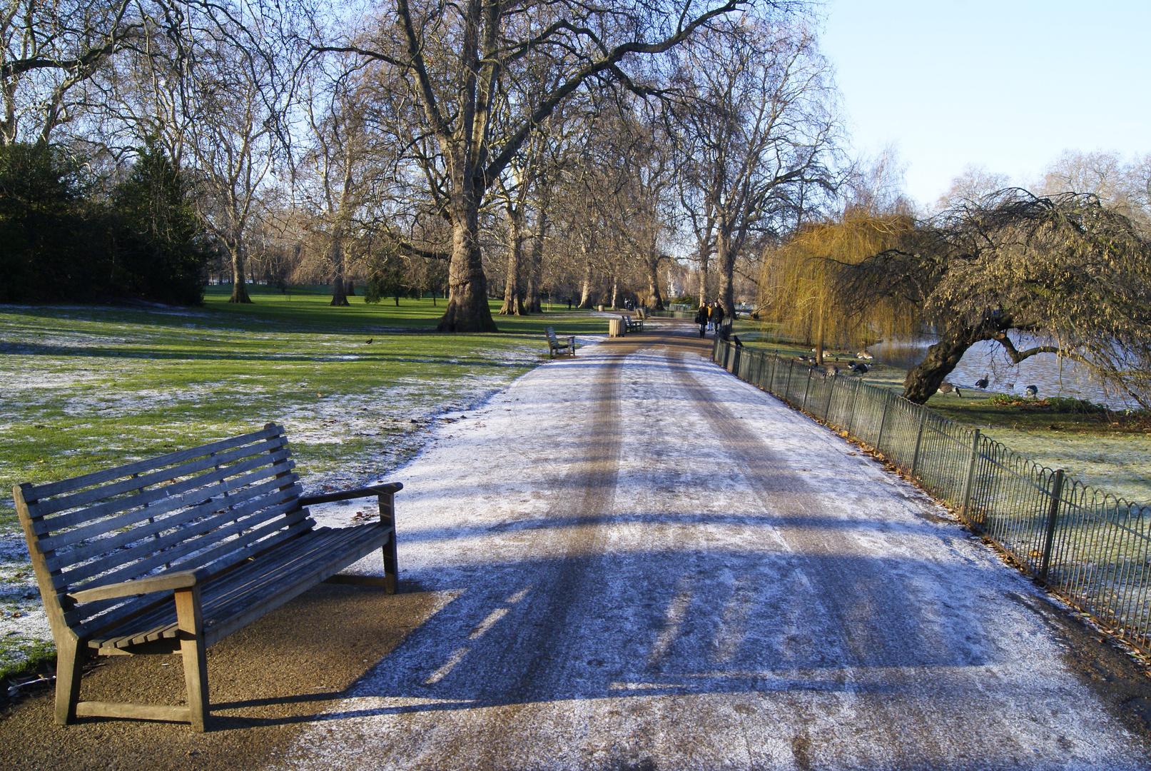promenade à Saint James Park, Londres