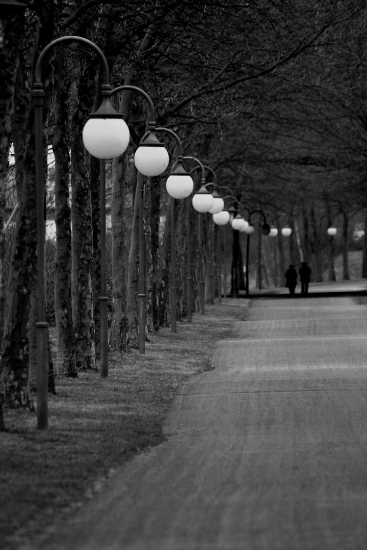 Promenade an der Saar