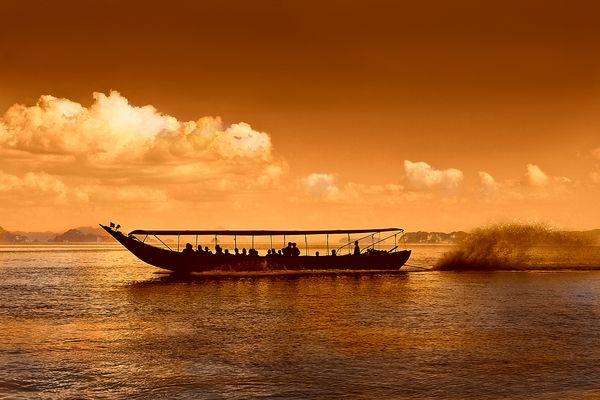Promenade en mer d'Andaman