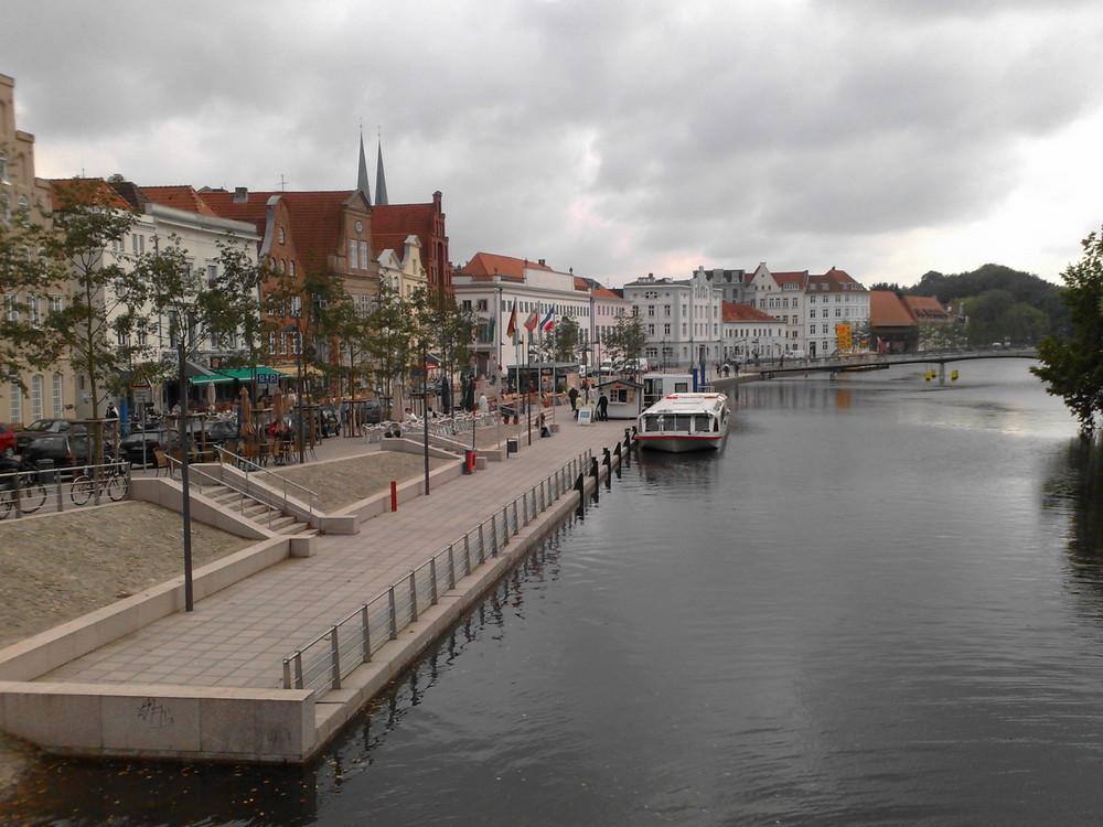 Promenade in Lübeck