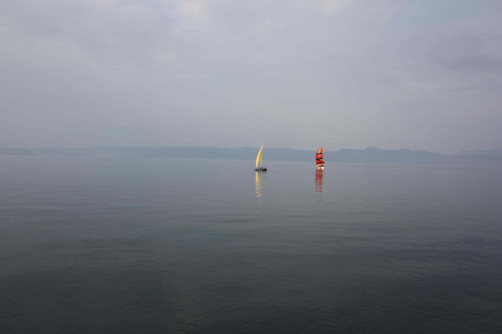Promenade sur le lac Léman