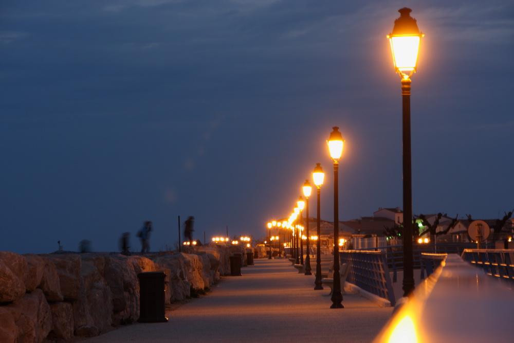 Promenade von Saintes-Maries-de-la-Mer