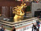 Prometheus-Skulptur im Rockefeller Center