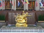 Prometheusstatue am Rockefeller Center