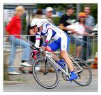 Promis beim Radrennen (I)