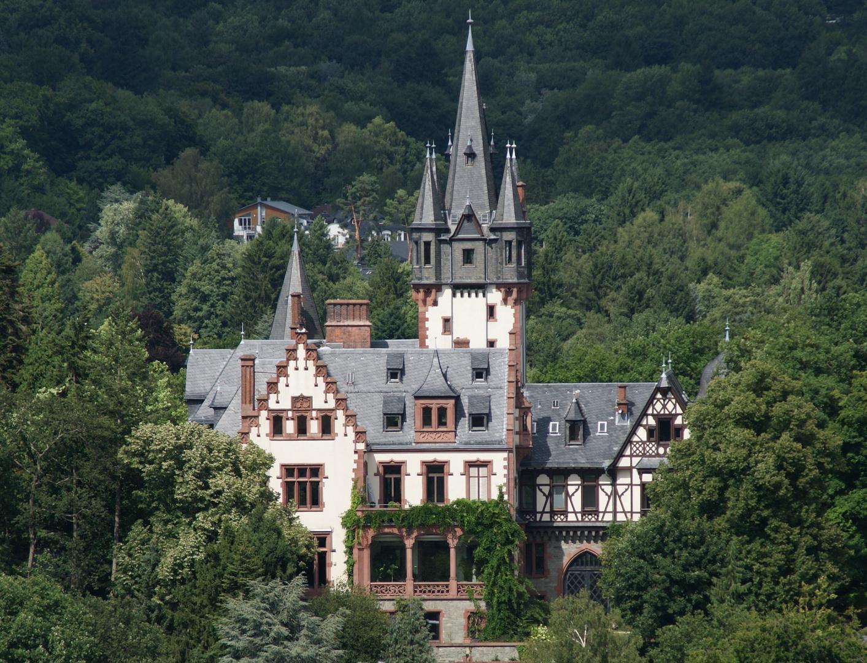 Promis - Villa Andrae, ehemalige Residenz von Dr. Jürgen Schneider