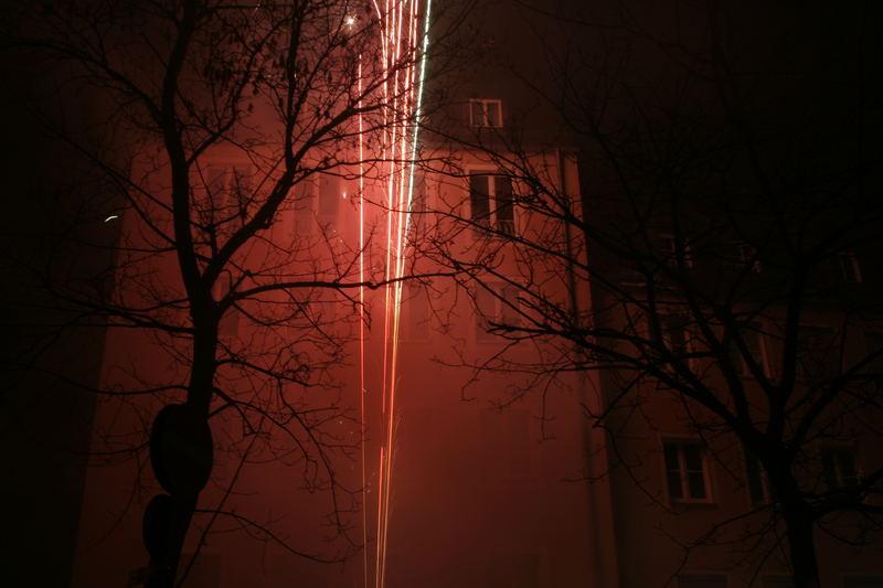 Prosit Neujahr in Nürnberg