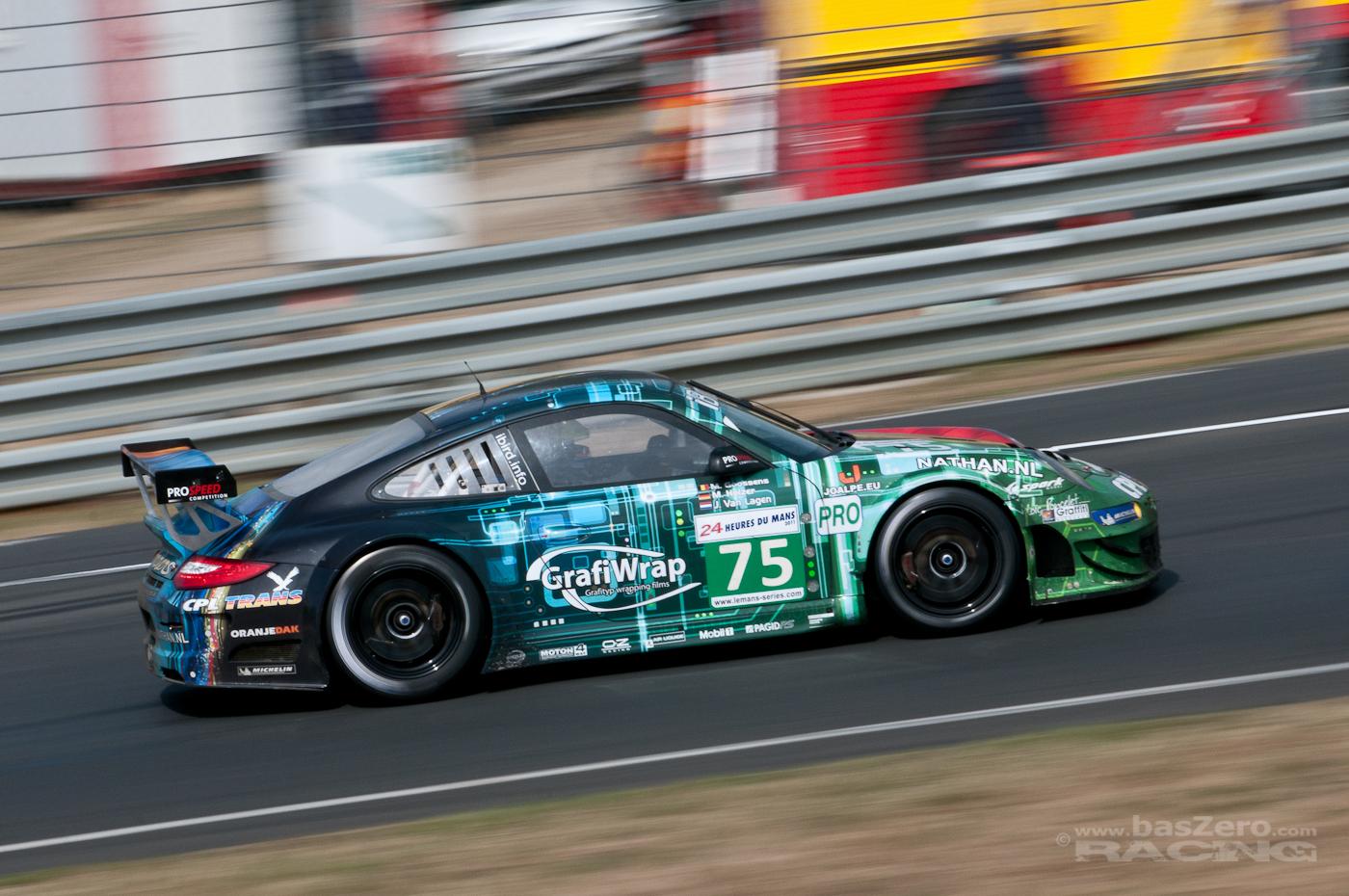 ProSpeed Competition - Designed by Loïc Poncelet - Porschekurve - Le Mans 2011