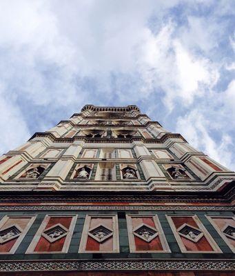 Prospettiva dal Campanile di Giotto