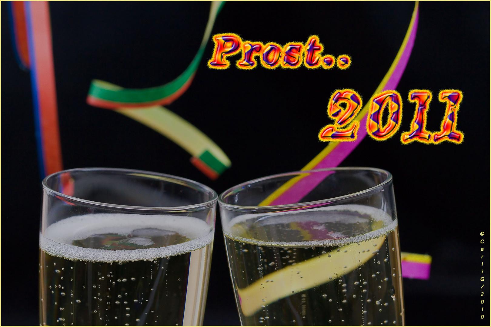 Prost Neujahr 2011...