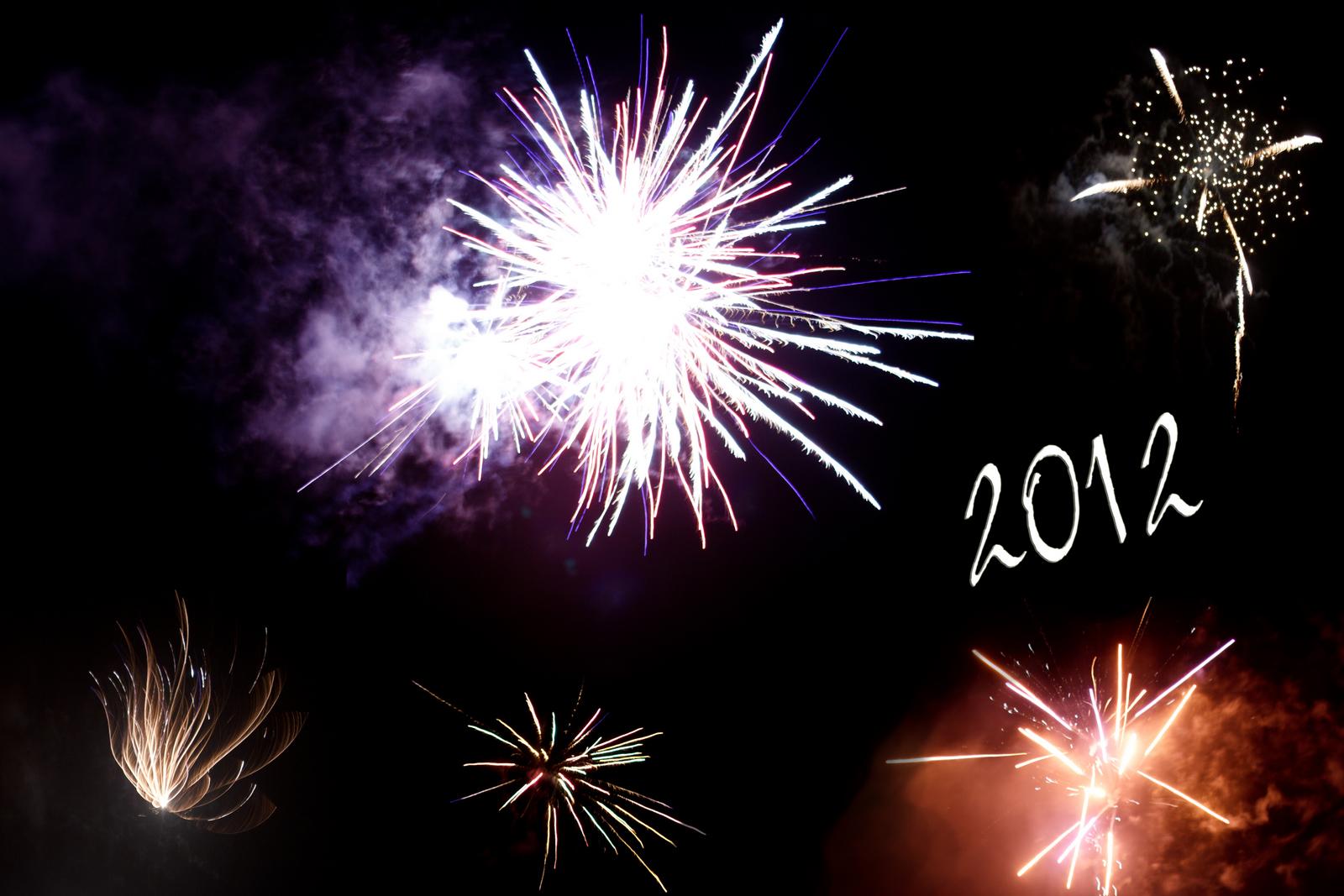 Prost Neujahr. Happy 2012!