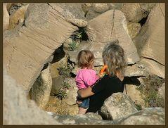 Protezione fra le rocce