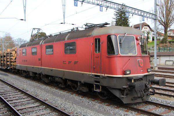 Prototype Re 6/6 11601