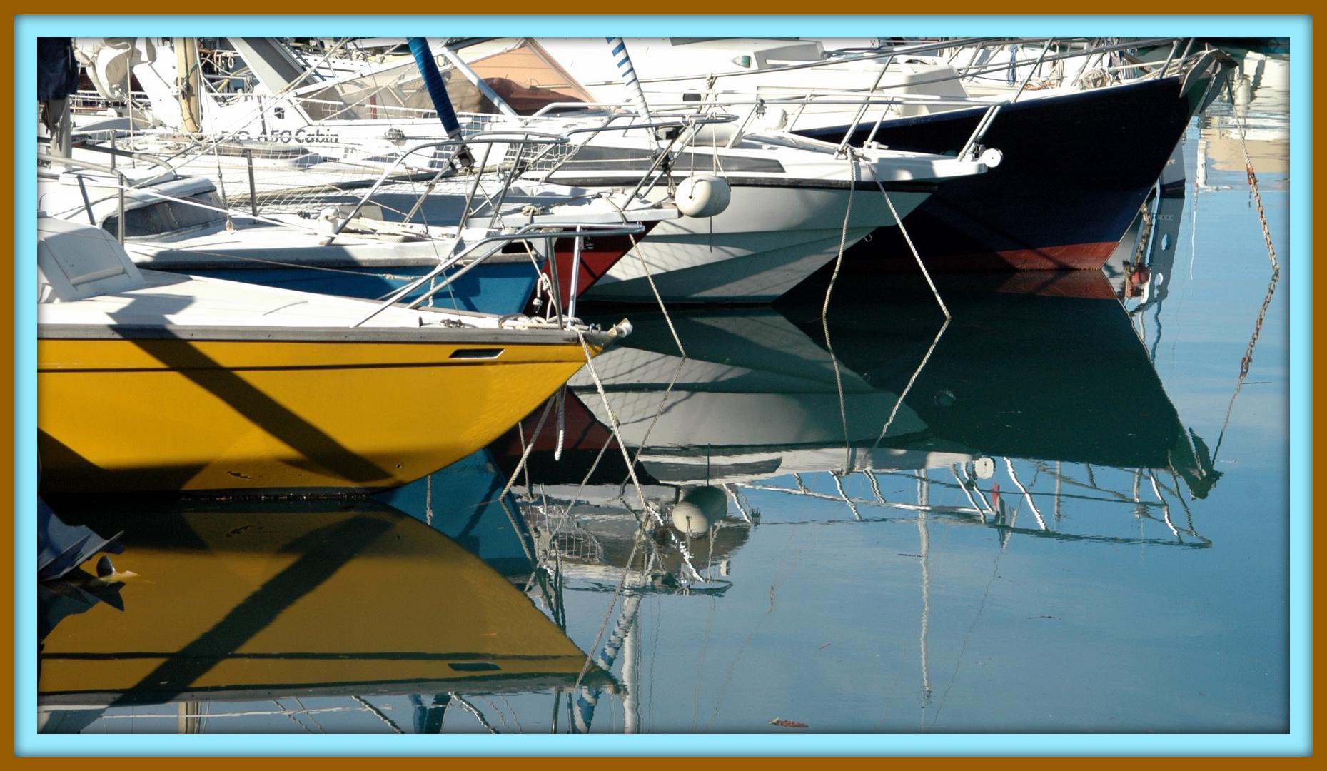 Proues de bateaux