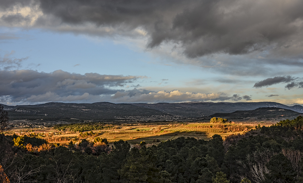 Provence - Blick in die Landschaft