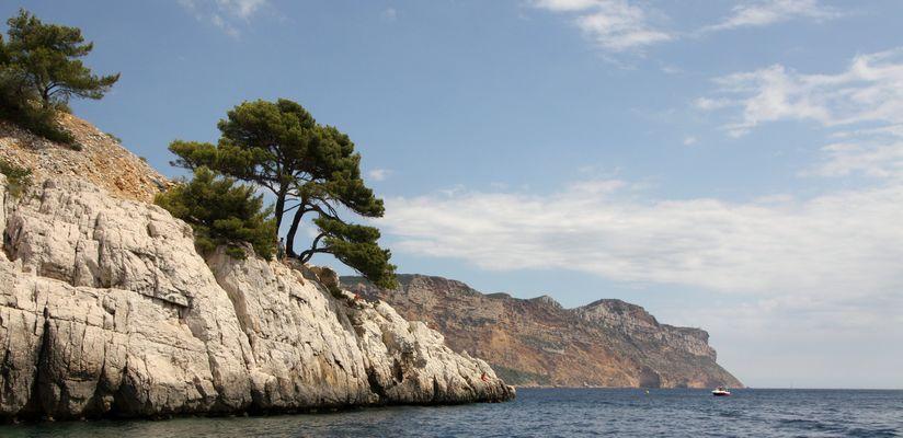 Provence - Cassis - Die erste Bucht