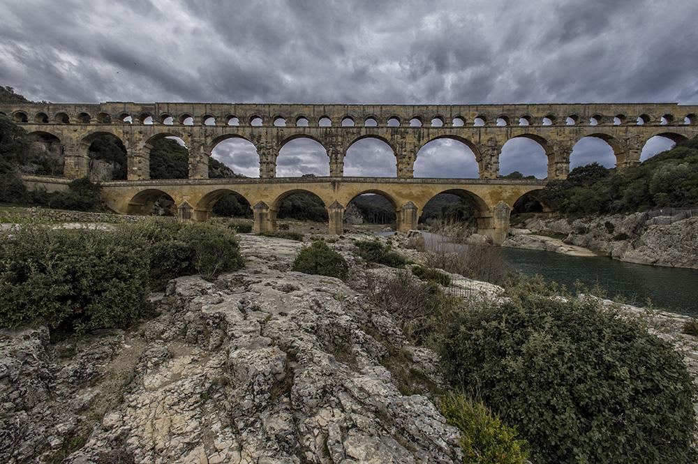 Provence - Pont du Gard 1