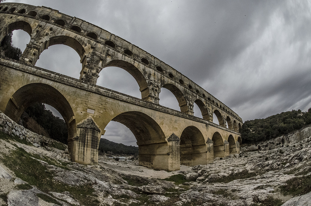 Provence - Pont du Gard 3