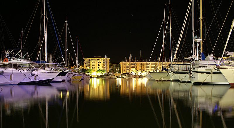 provenza di notte-Port Frejus