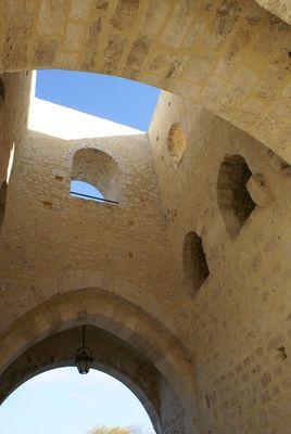 PROVIN - Vue des remparts (la porte)
