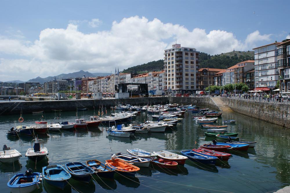"""Proyecto """"Puerto de Castro Urdiales""""."""
