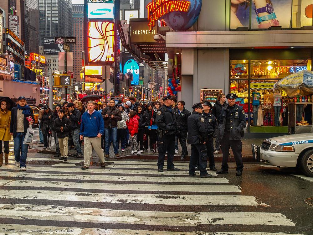 """Proyecto """"Retrato de una calle"""" / En una esquina cualquiera de Nueva York"""