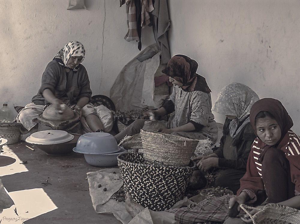 Proyecto Tiguemine Argane (Marruecos)