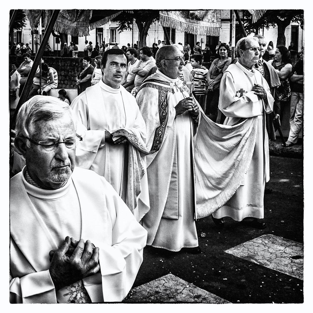 Prozession ... Gesichter einer ........