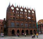 Prunkstück Schaufassade Rathaus