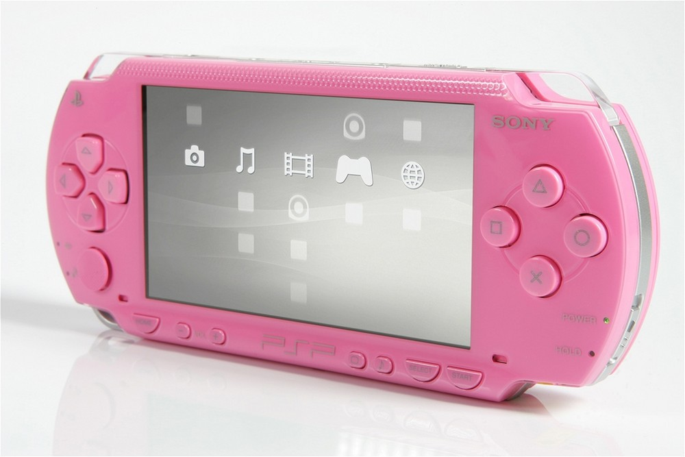 PSP in Flamingo Pink