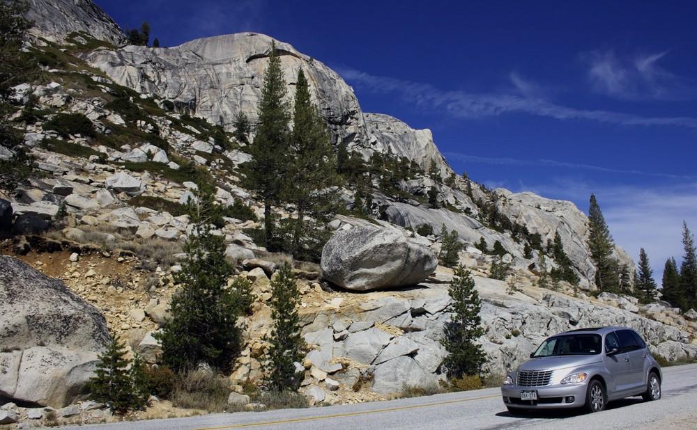 PT Cruiser im Yosemite NP