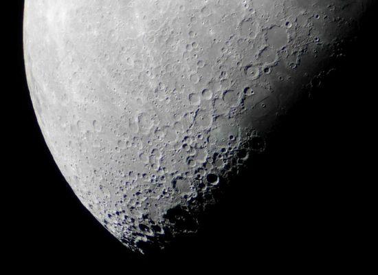 Ptolemaeus und andere Krater