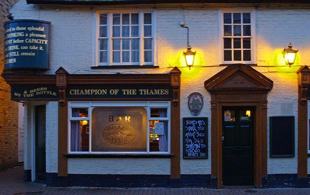"Pub ""Champion of the Thames""  Kings Street,  Cambridge"