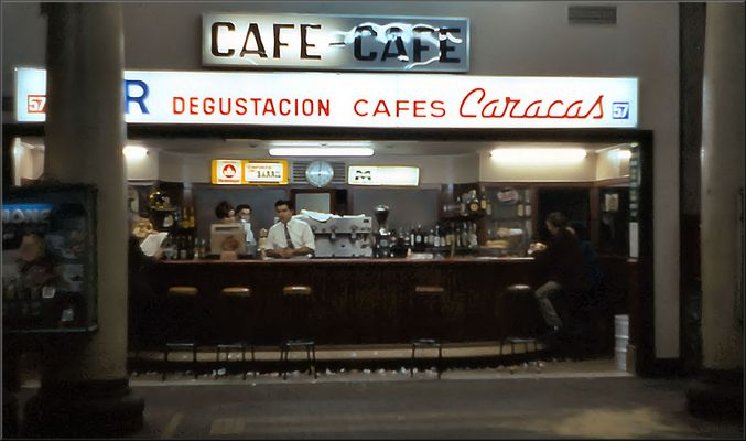 Pub in the Metro of Barcelona