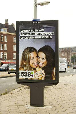 pubblicità in Amsterdam