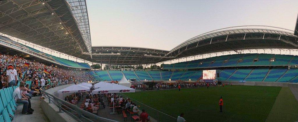 Public Viewing im Leipziger Zentralstadion